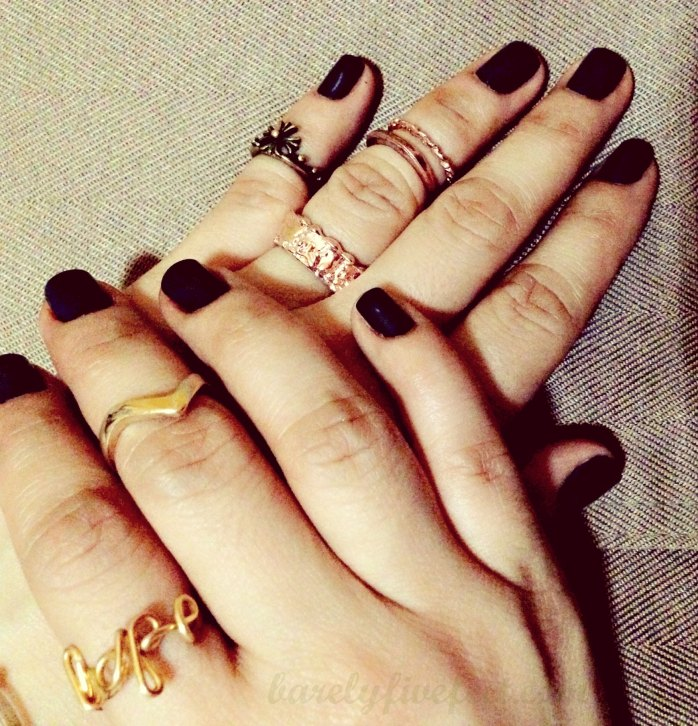 midi ring wire ring knuckle ring