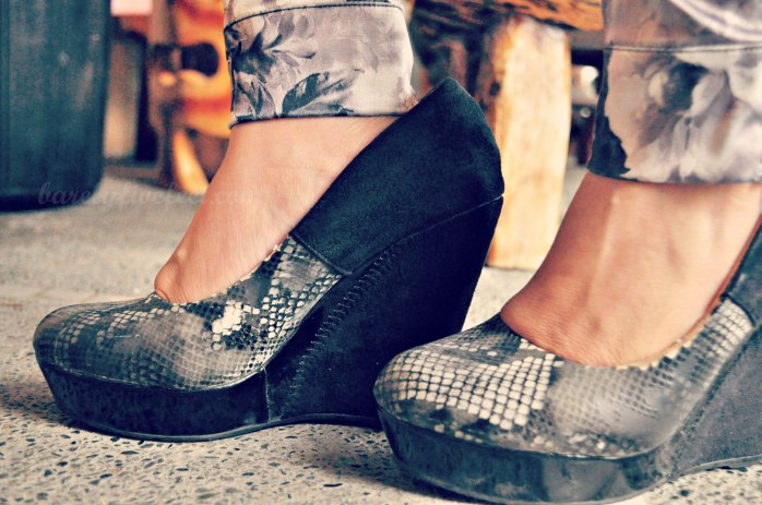 Amp up your outfit with a pair of killer shoes :)