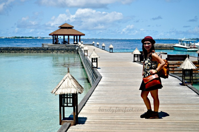 Arrival at Kurumba Island Resort