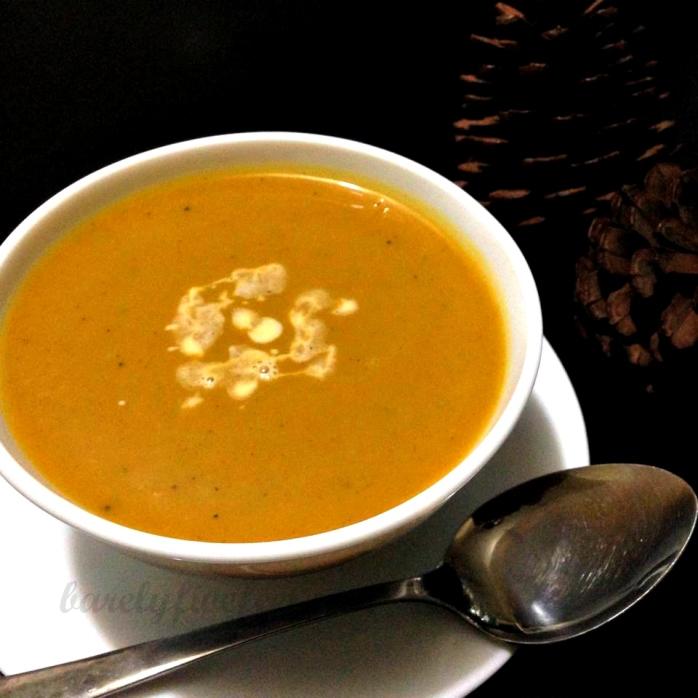 squash soup buttercup squash pumpkin soup