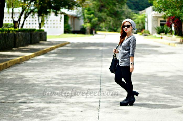 H&M combat platform boots Baguio City